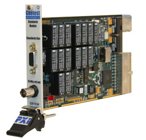 GX1034  -  Standards Module for Test Systems PXI Card