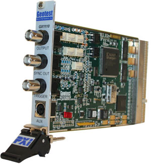 GX1110  -  Arbitrary Waveform Function Generator PXI Card