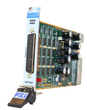 GX1642  -  Analog Output PXI Card