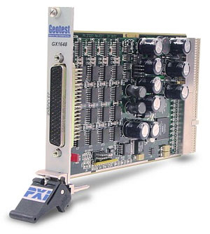 GX1648  -  Analog Output PXI Card