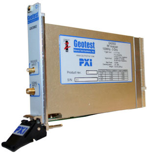 GX2002  -  RF Power Analyzer PXI Card