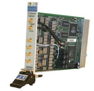 GX2472  -  Dual Channel Digitizer PXI Card