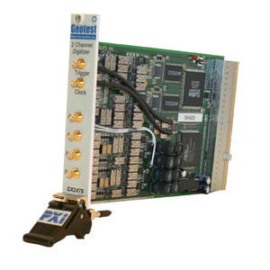 GX2475  -  High Voltage Dual Channel Digitizer PXI Card