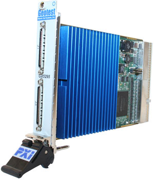 GX5295  -  Dynamic Digital I/O with Per Channel Programmable Logic Levels and PMU PXI Card