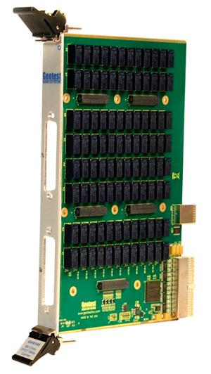 GX6196  -  96 Channel DPST Relay and Control PXI Carrier Card