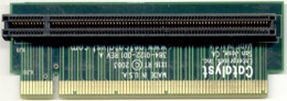 PCI Express x16 Right Angle adapter A-Side Up