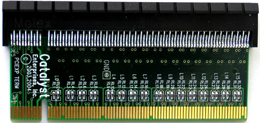 PCI Express x16, 50 ohm Bus Termination Adapter